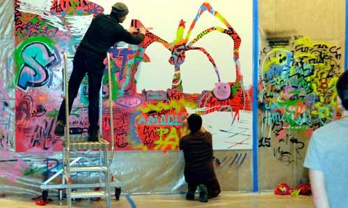 Guggenheim, arte urbano