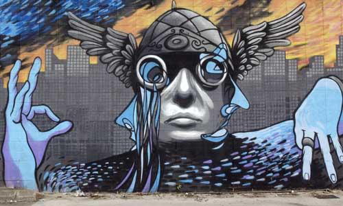 SM172 Arte urbano Barcelona