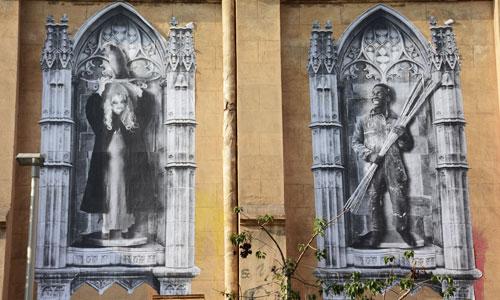 Teo Vazquez, arte urbano en Barcelona