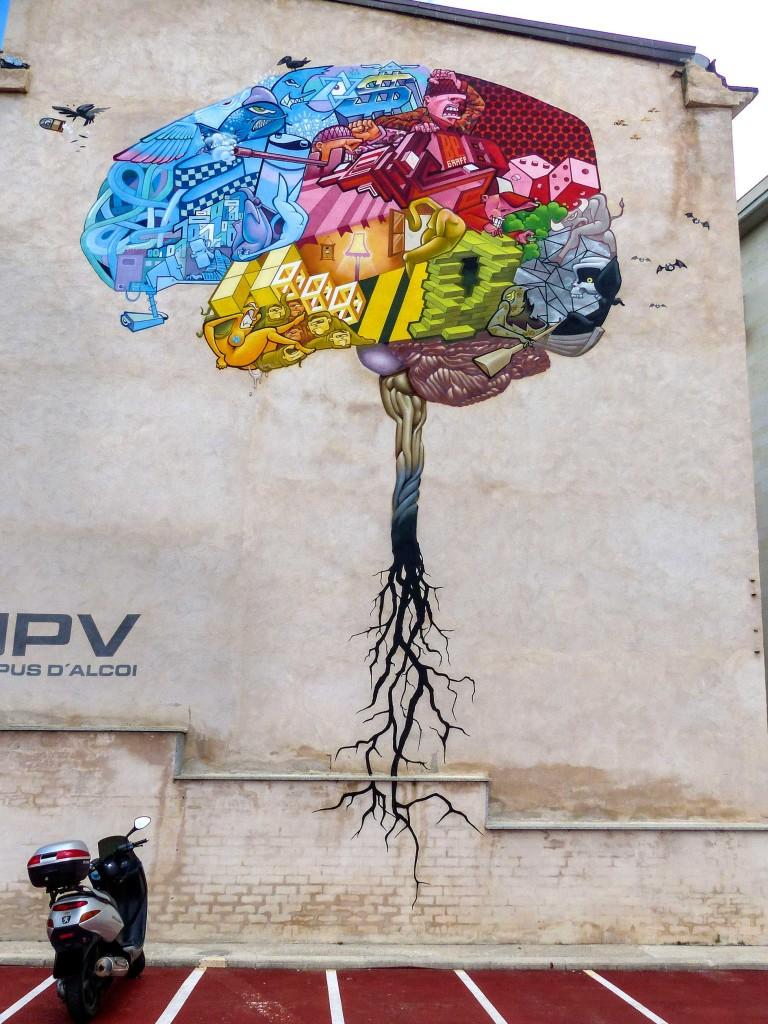 Begraff arte urbano Alicante
