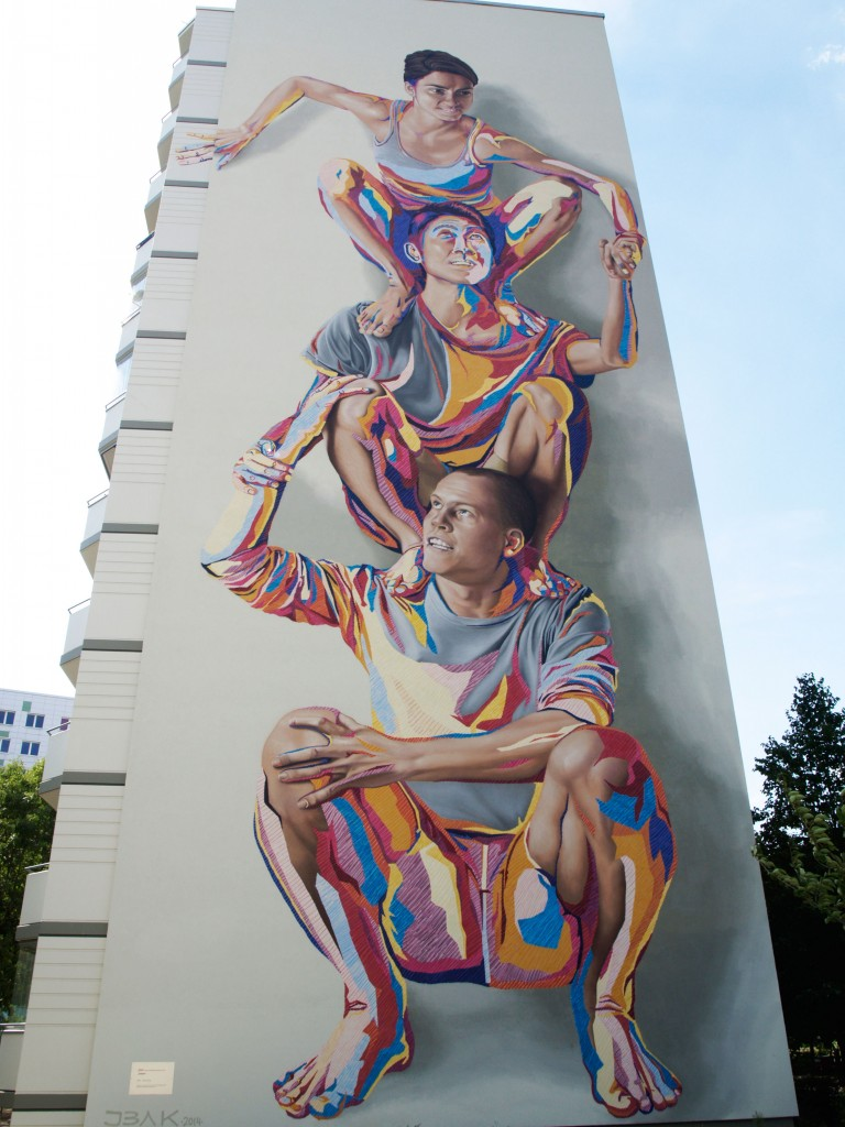 James Bullough Addison Karl arte urbano Berlín