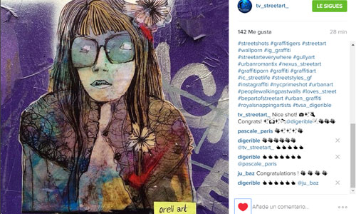 Oreli Art arte urbano en Barcelona