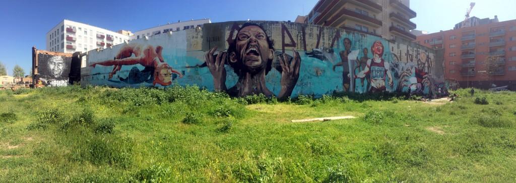 Arte urbano en Barcelona, Big Walls
