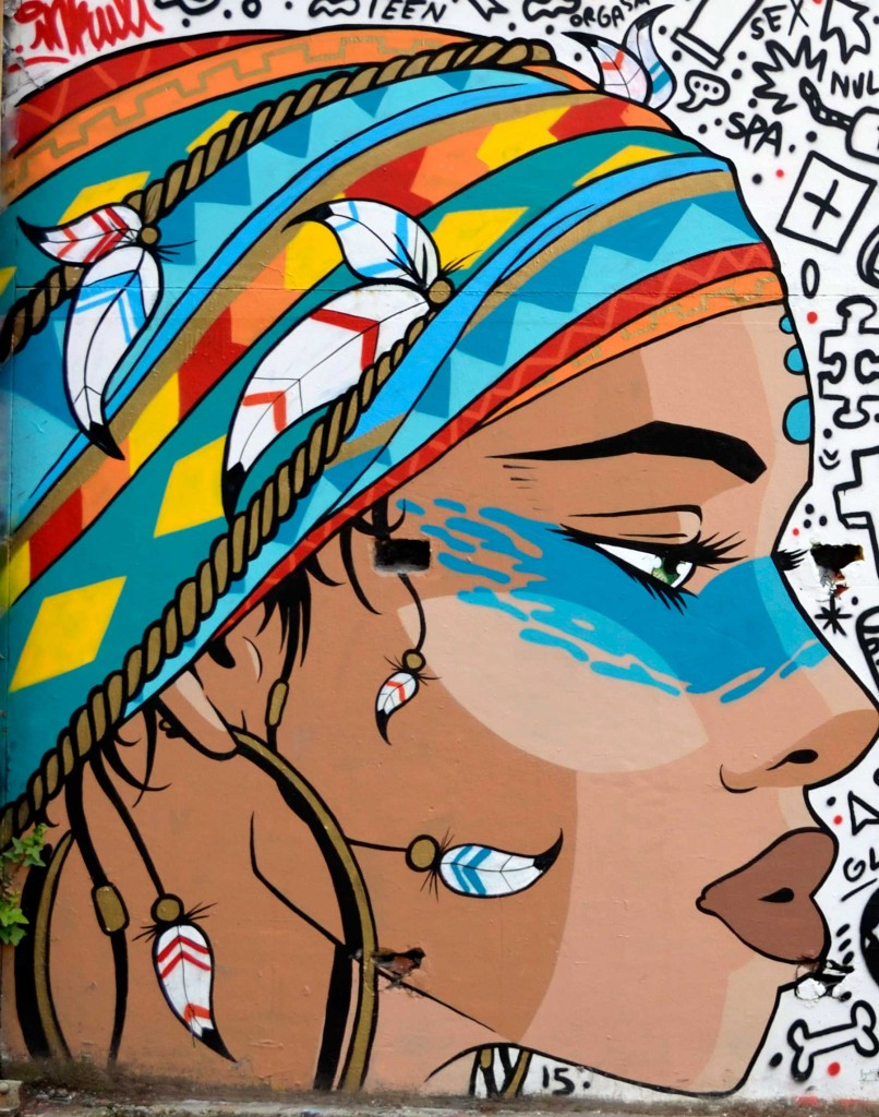 WaRoox & Inkult arte urbano en Bordeaux, Francia