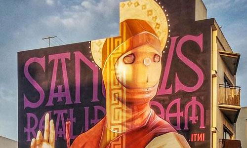 INTI arte urbano en IBIZA