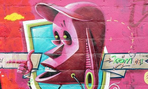 kram arte urbano, Barcelona