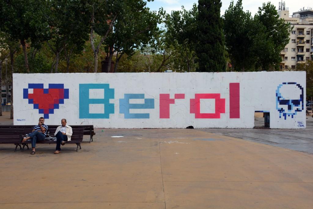 Berol arte urbano en Barcelona