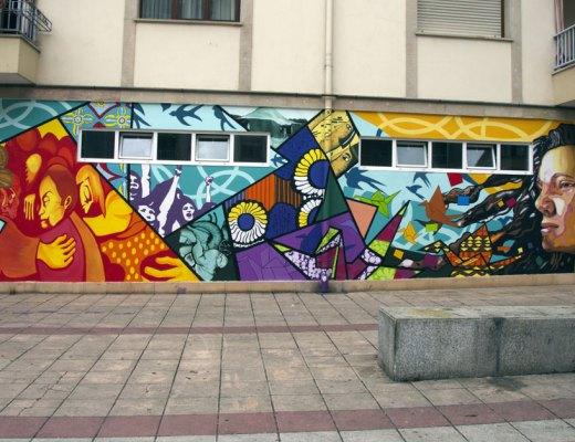 Arte urbano en Aretxabaleta