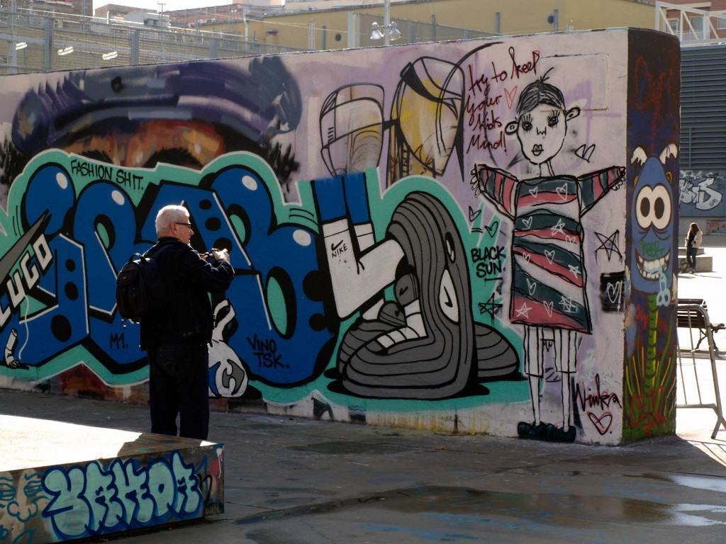 Lluís Olivé arte urbano España