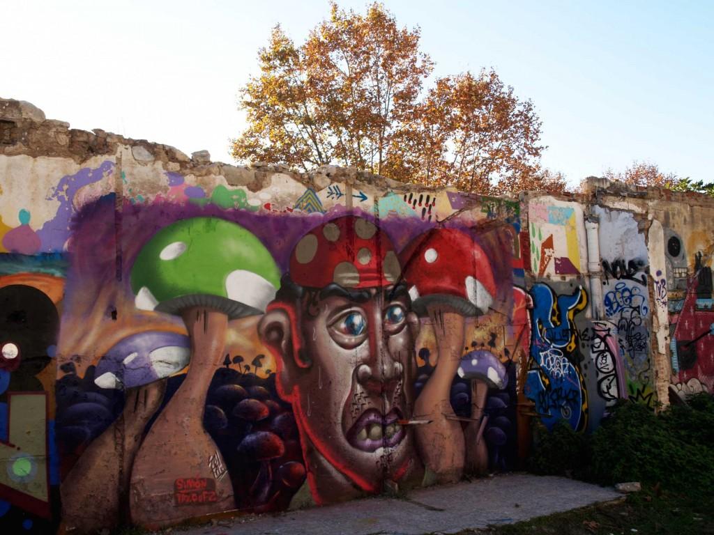 Simón Vázquez y Seta arte urbano en Barcelona