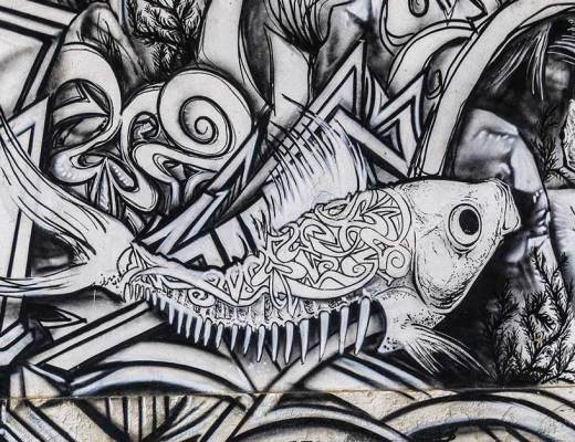 Arte urbano en Cartagena Murcia España