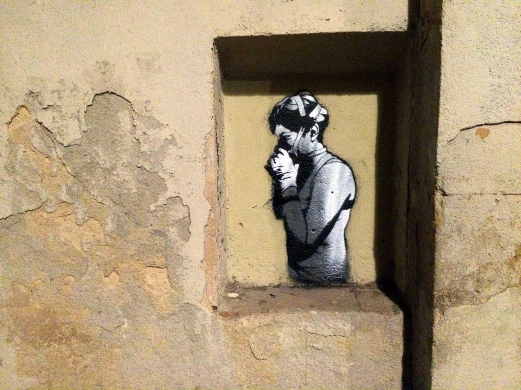 SM172 arte urbano en Barcelona