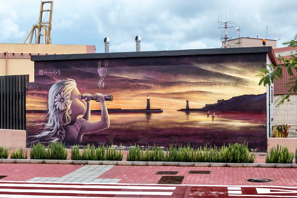Arte urbano GoYo203, España