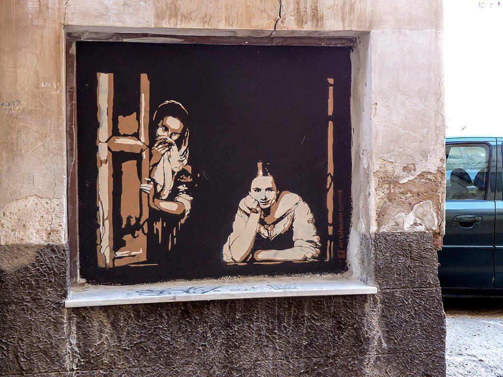 Arte urbano Salvador Gomez