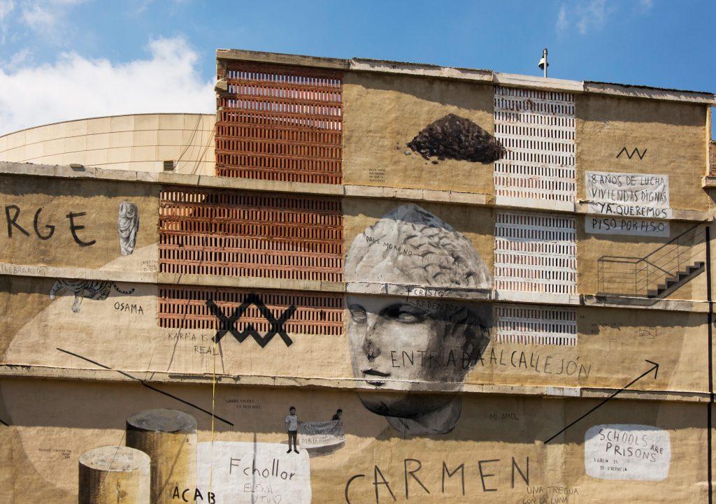 Escif arte urbano Valencia