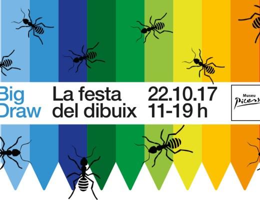 @ANTpintura Big Draw, Museu Picasso, Barcelona