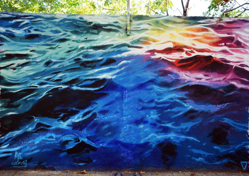 Arte urbano Axel Colours Barcelona