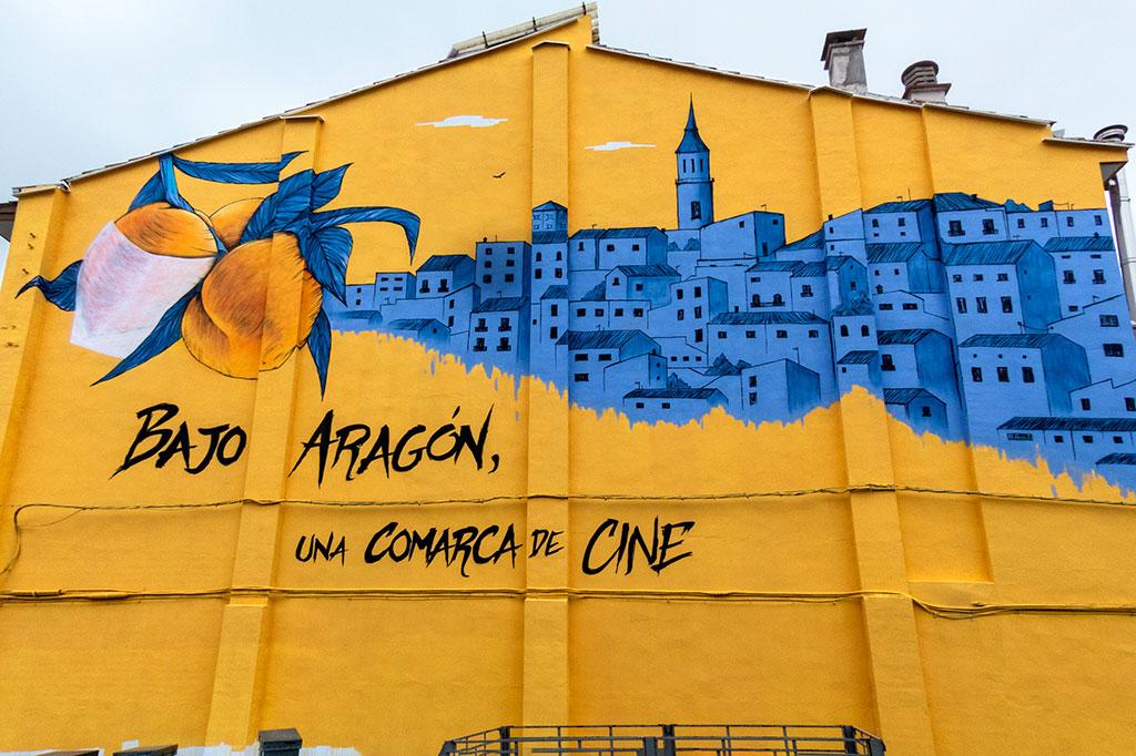Arte urbano Calanda - Aragón