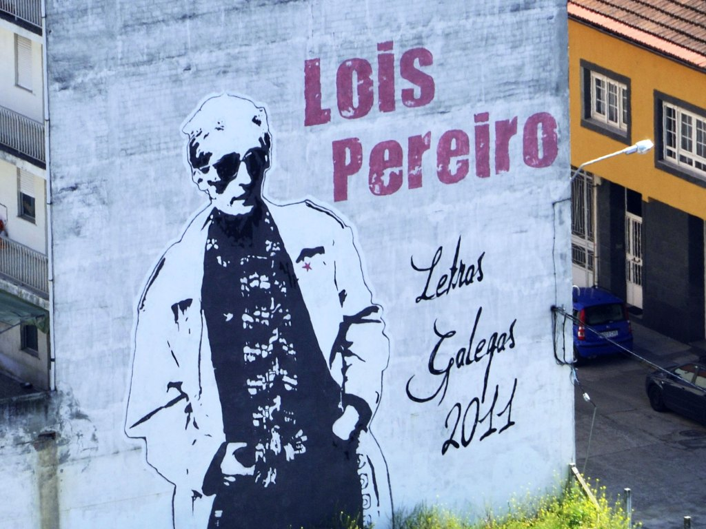 Arte urbano en Monforte de Lemos, Lugo, Galicia