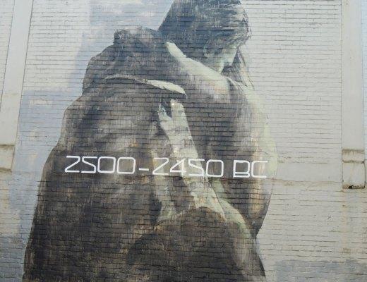arte urbano Dunedin Nueva Zelanda, Faith47