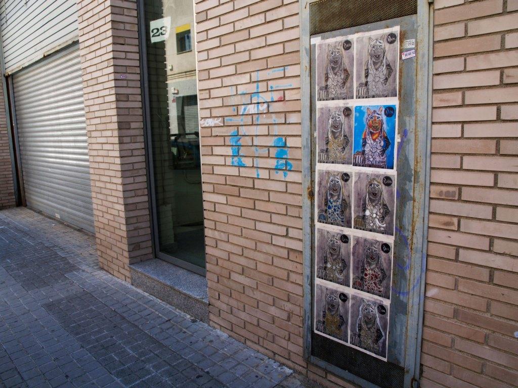 arte urbano Dan, Mataró
