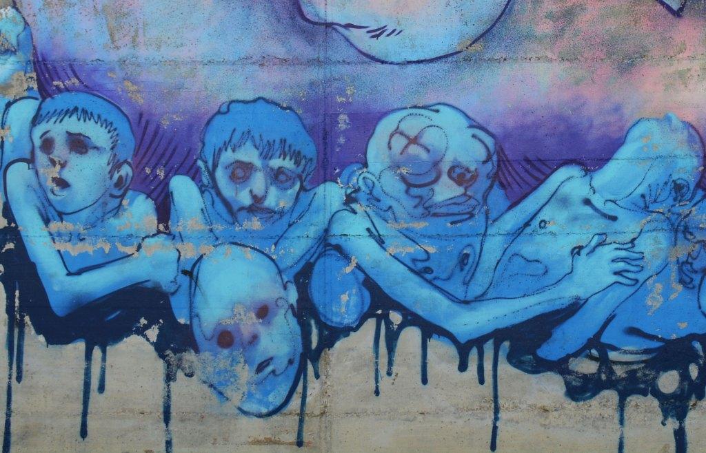 Arte urbano Enric Sant - Barcelona
