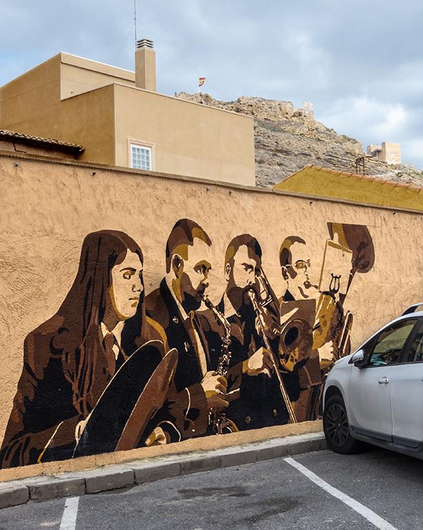 arte urbano Busot Alicante