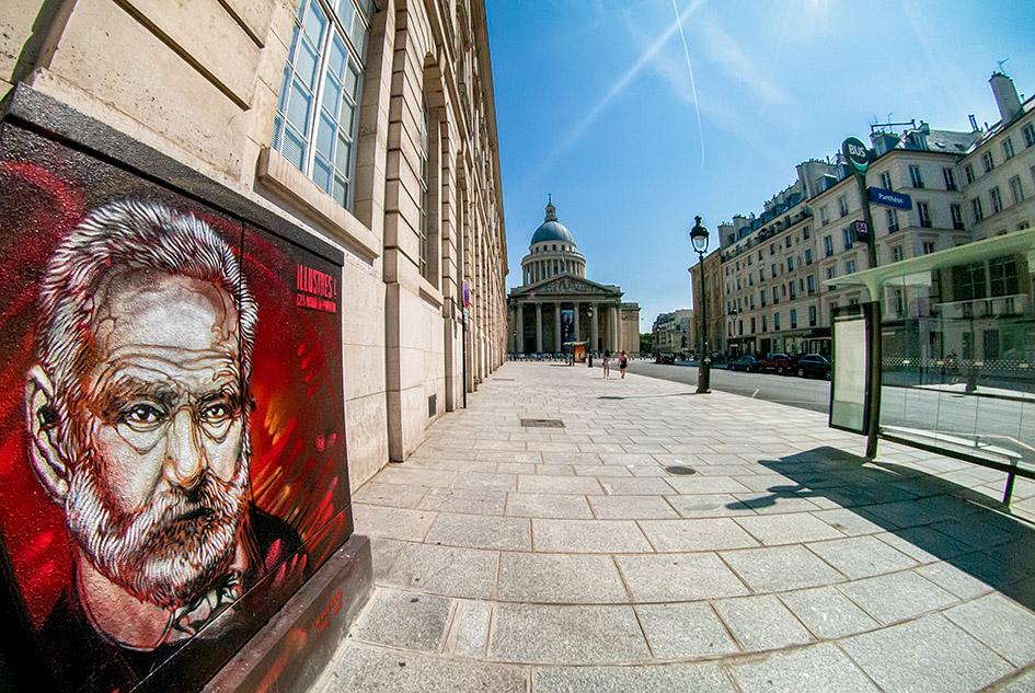 arte urbano c215 parís Francia