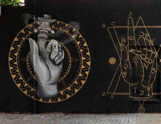 Arte urbano de Skount & Kafre Barcelona