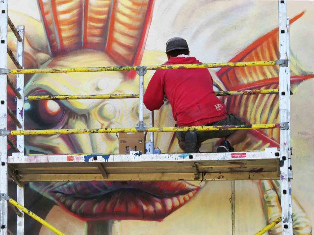 arte urbano Juanjo Surace barcelona