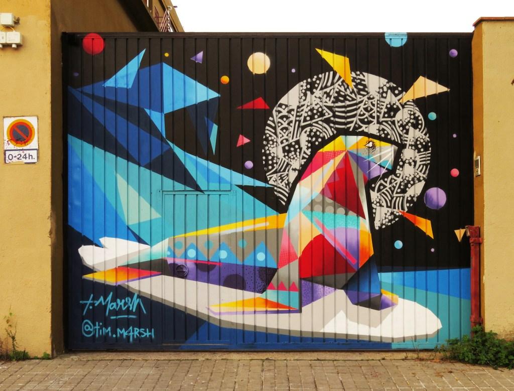 Arte urbano, Barcelona Tim Marsh