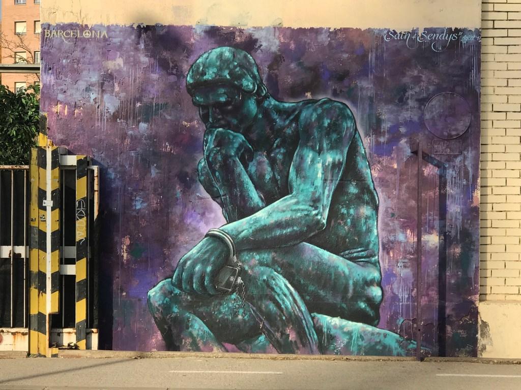 Arte urbano Sendys Sath Barcelona