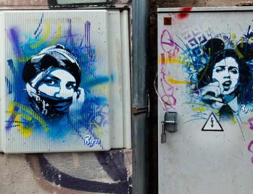 Arte urbano Byrs Lleida