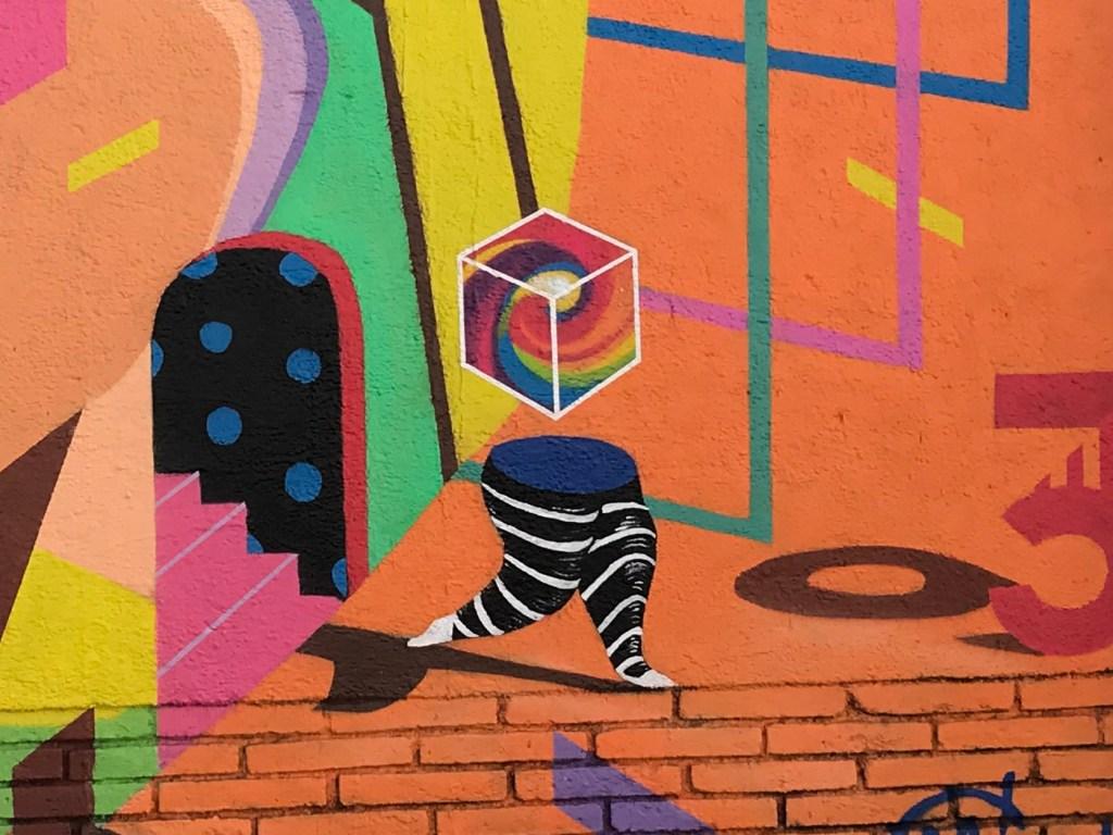 arte urbano Magda Cwik Barcelona