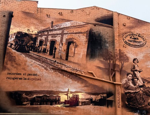 arte urbano Roc Blackblock, Navas