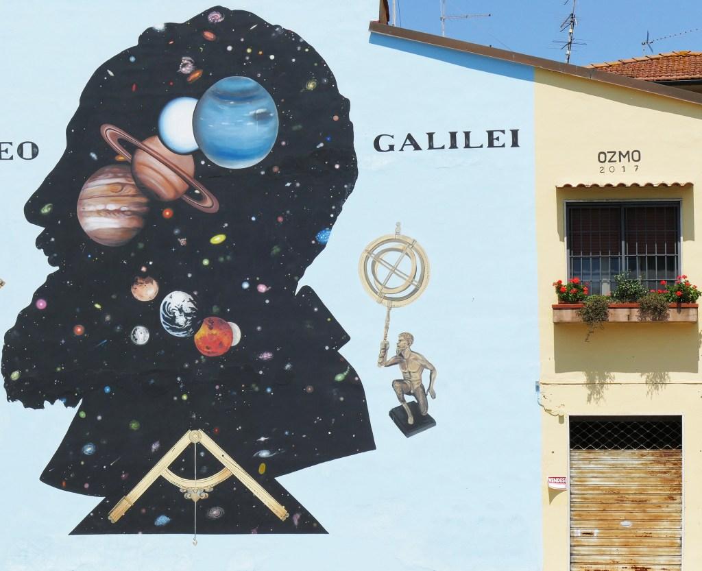 Arte urbano de Ozmo en Pisa – Italia