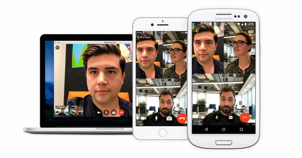 Workplace By Facebook Ahora con video llamadas grupales