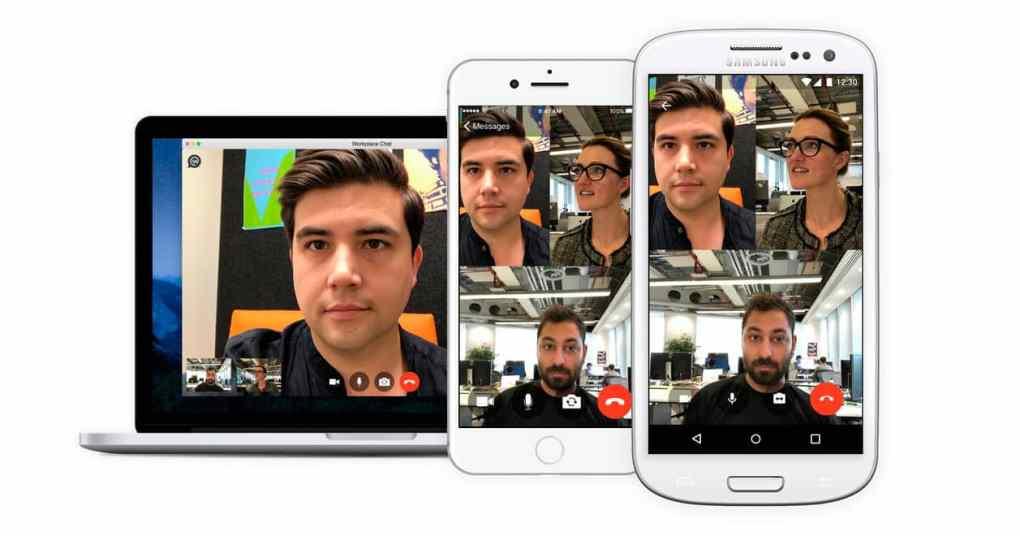 Workplace By Facebook Ahora con video llamadas grupales
