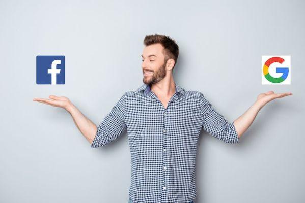 Google Adwords Vs los anuncios de Facebook