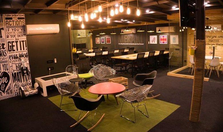 coworking spaces in delhi myHQ Innov8