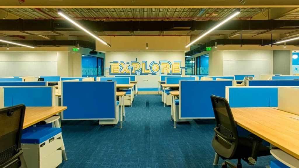 office evolution myHQ Flipkart