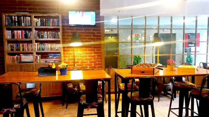 cafes to sit and work in Delhi Another Fine Day