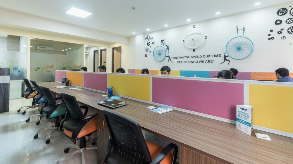 coworking spaces in Noida Qbicals