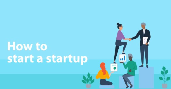 how to start a startup myHQ