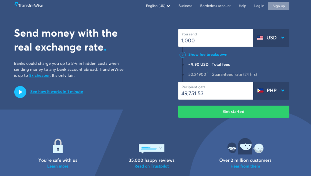 Freelance payment methods - TransferWise