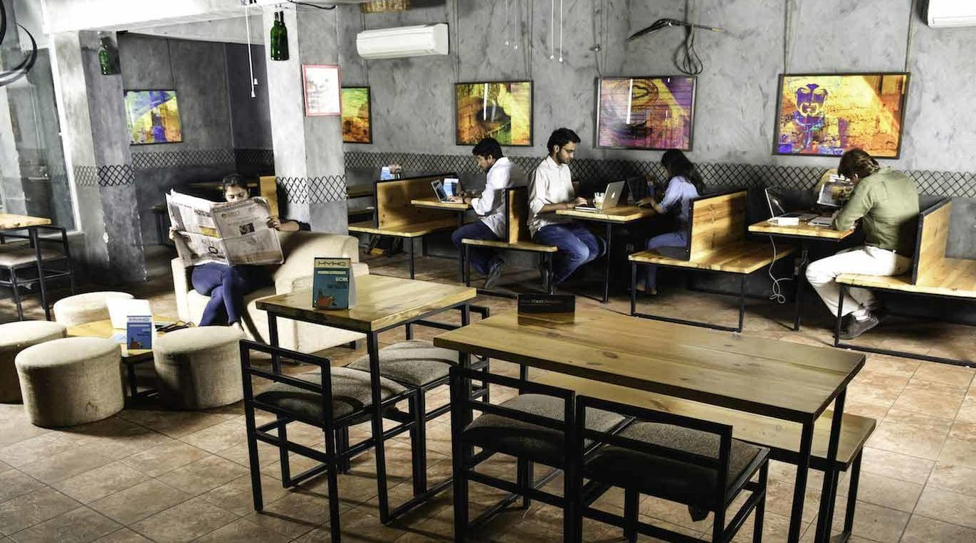 Shared office space in Delhi NCR - myHQ