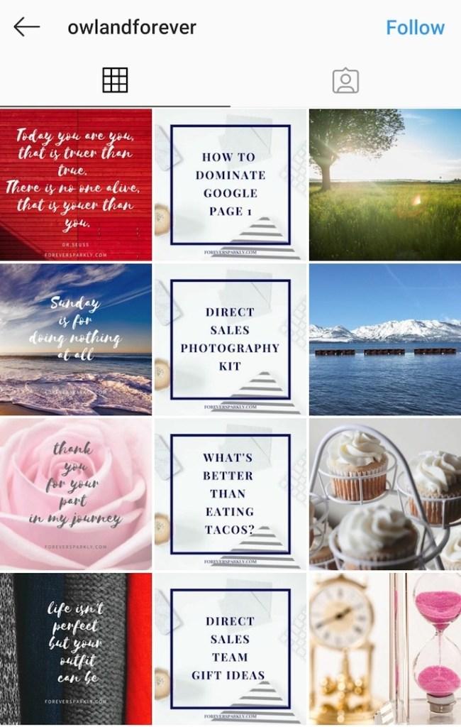 Instagram feed ideas - 8