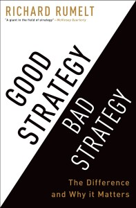 business strategy books - good strategy bad strategy