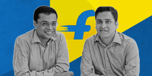 successful entrepreneurs in India - Sachin & Binny Bansal