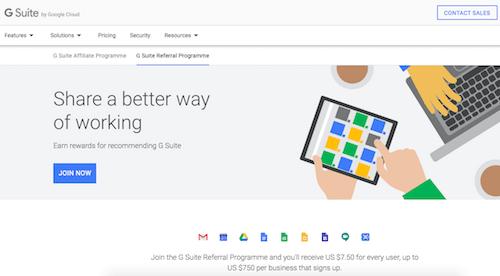 Best Referral Programs - Google App for Work